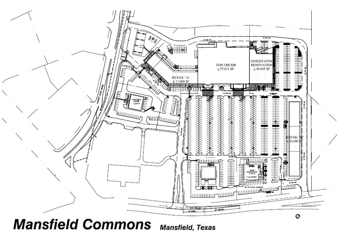 Mansfield Commons Site Plan
